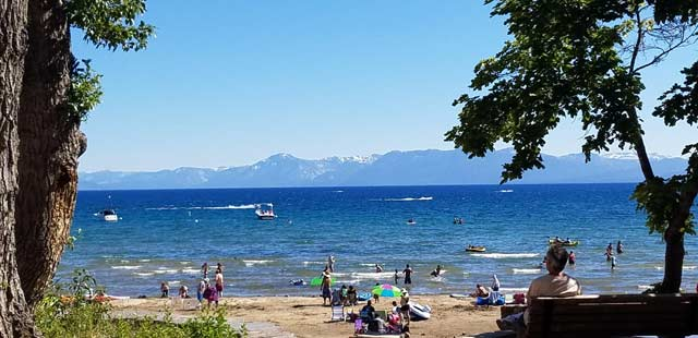 Lake Tahoe Cool Down In Placer County Kings Beach
