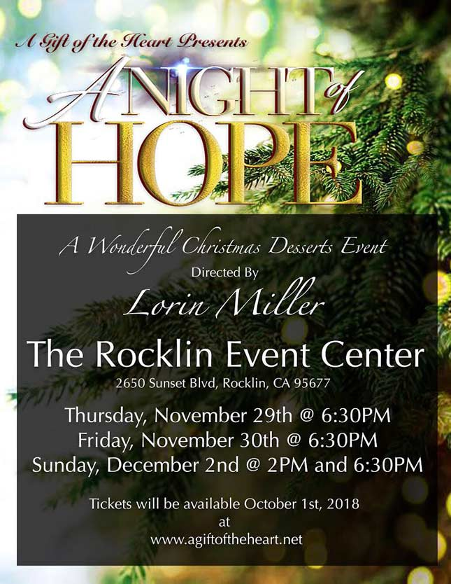 Night of Hope Flyer