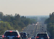 Cars and Traffic in California