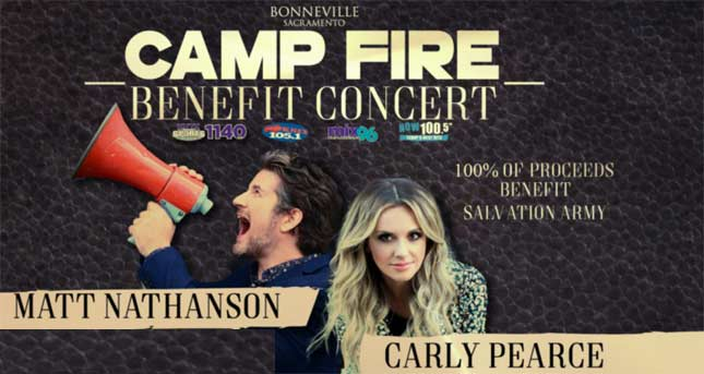 Camp Fire Benefit Concert