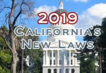 New California Laws 2019
