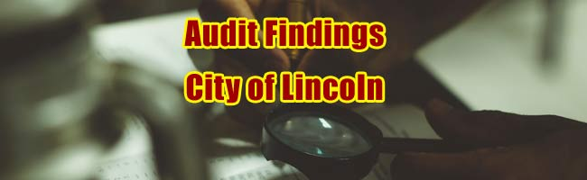 City of Lincoln Audit