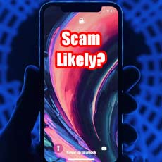 scam likely screen