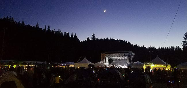 Night at High Sierra Music Fest