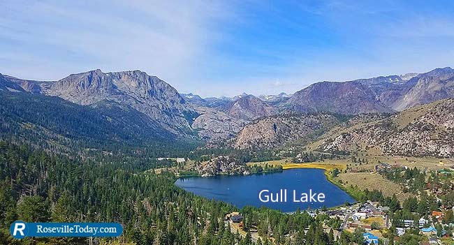 Gull Lake from Yost Meadows Trail