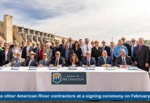 PCWA contract signing
