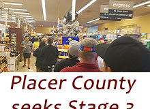 Placer County stage 3