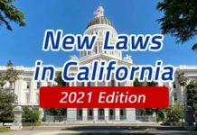 California Laws 2021