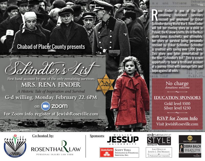 Holocaust Survivor Event