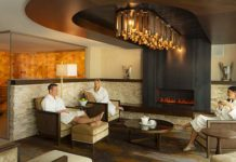 The Spa Fire Lounge
