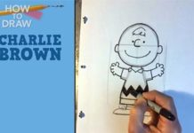 Draw Charlie Brown
