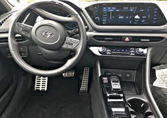 Sonata interior