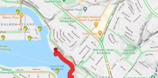 Newport beach Closure
