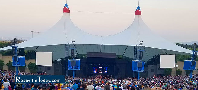 Shoreline Amphitheater in Mountain View, CA