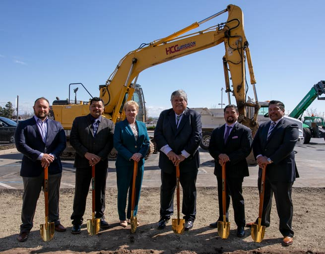 Thunder Valley breaks ground on The Venue