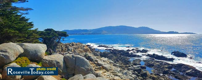 17 mile drive in Monterey