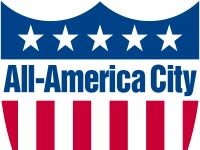 All America City logo