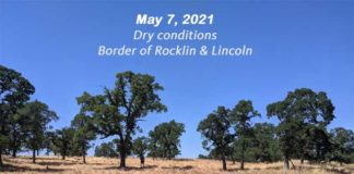 Dry Conditions Placer County