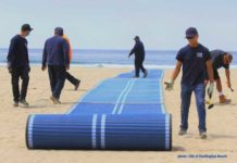 Huntington Beach Mobi Mat
