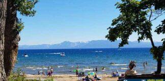 Kings Beach on Lake Tahoe