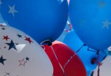 balloons 4th of July