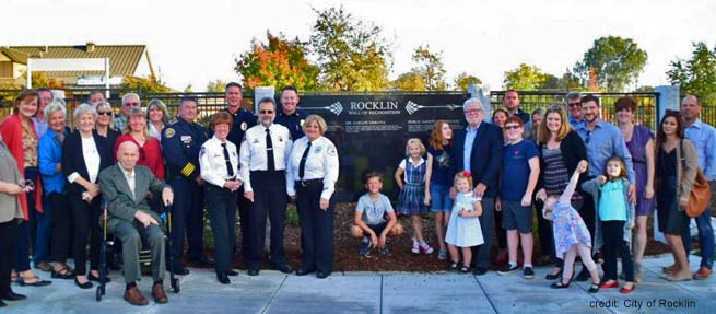 Rocklin Wall of Recognition