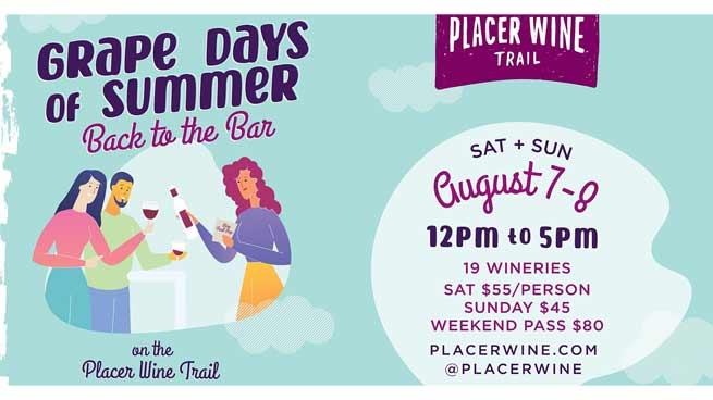 Grape Days of Summer Placer