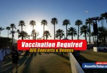 Vaccination required AEG