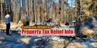 Wildfire tax relief
